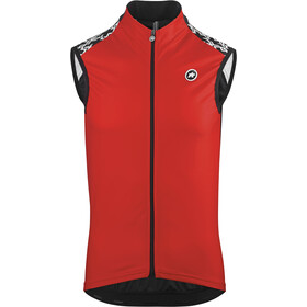 assos Mille GT Spring Fall Vest national red